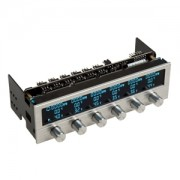 Fan controller Lamptron FC5 v3 Silver, 5.25inch