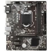 Placa de baza MSI H310M PRO-VDH, Intel 1151 v2, H310