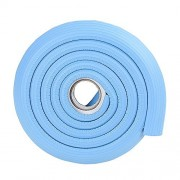 2M/6.5ft Thick Rubber Corner Guard for Desk High Density Countertop Edge Bumper Chair Protector Sky Blue