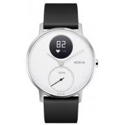 Nokia Steel HR Wristband activity tracker Nero, Acciaio inossidabile, Bianco Senza fili