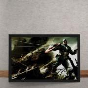 Quadro Decorativo Capitao America O Primeiro Vingador Comic Con Marvel 25x35