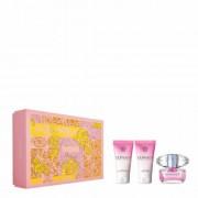 Versace Bright Crystal Gift Set Eau De Toilette 50 Ml Cofanetto Regalo