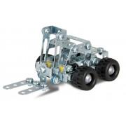 Set constructie - Camion cu remorca si stivuitor, 400 piese