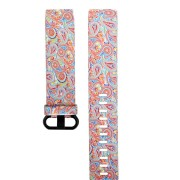 Bakeey Colorful Printed Watch Strap Soft Silicone Watch Band for Fitbit Charge 3 Smart Watch