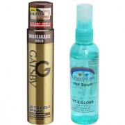 Pink Root Hair Serum GATSBY Set Keep Spray ULTRA HARD Pack of 2