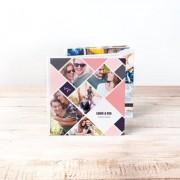 smartphoto Fotobok stor kvadratisk hårt omslag - Läderimitation