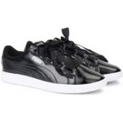 Puma Vikky v2 Ribbon P Sneakers For Women(Black)