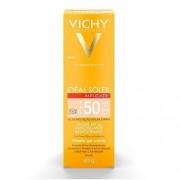 Protetor Solar Vichy Idéal Soleil Anti-idade - FPS 50, com cor, 40g