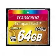 Transcend tarjeta de memoria compacta TS64GCF1000 64GB 1000x