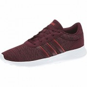 Adidas Men's Lite Racer Maroon Sports Shoes