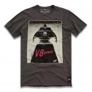 Camiseta V8 Power Cinza