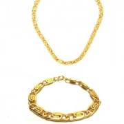 Yo Yo Honey Singh Bracelet and Chain Combo for Men and Boys by GoldNera
