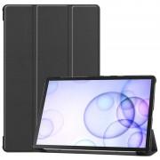 Bolsa Fólio Inteligente Tri-Fold para Samsung Galaxy Tab S6 - Preto
