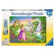 Puzzle Printesa si cal, 200 piese