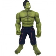 Emob 60 cm Giant Incredible Finishing Green Action Hero Character Hard Plastic Toy with Movable Hands and Legs (Green)