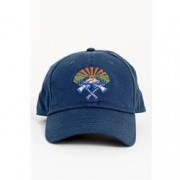 United By Blue Mens Axe Crest Baseball Hat