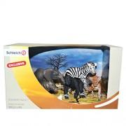 Schleich Wild Animal Babies Africa Scenery Pack