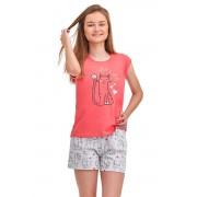 Eva Lets chill lánykapizsama, rózsaszín 152