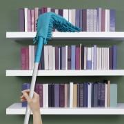 Pamatuf flexibil din microfibra-bleu