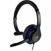 Геймърски слушалки Nacon Bigben PS4 Official Communicator, Микрофон, Черен