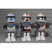 LEGO Captain Rex Cody & Fox - Commander 2 Minifig
