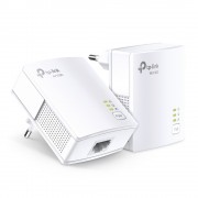 PowerLine Adapter, TP-LINK TL-PA7017 KIT, AV1000, AV1000, 1x Gigabit port, Twin Pack
