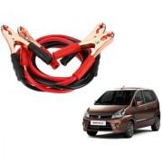 Auto Addict Premium Quality Car 500 Amp Heavy Duty Copper Core Tangle Battery Booster Cable 7.5 Ft For Maruti Suzuki Zen Estilo