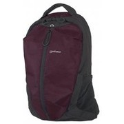 "Manhattan 15.6"" Airpack Notebook Bag Colour:Black and Plum"