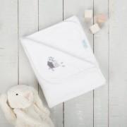 Paturica pufoasa din fleece 90x70 cm Comfi Love Owl 844319