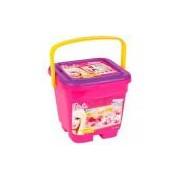 Brinquedo Baldinho Divertido Massinhas Barbie Bb1171 Fun