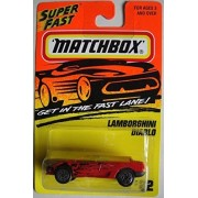 MATCHBOX SUPER FAST RED LAMBORGHINI DIABLO #22