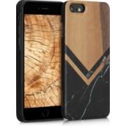 Husa iPhone 6 / 6S Lemn Maro 46078.16