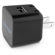 Kensington K39595AM AbsolutePower 1.0 PowerWhiz Fast Wall Charger for Smartphones - Retail Packaging - Black
