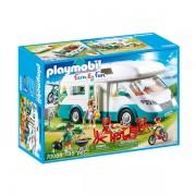Set de joaca Playmobil Family Fun, Rulota Camping