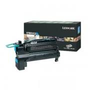 Lexmark Originale X 792 DE Toner (X792X1CG) ciano, 20,000 pagine, 1.29 cent per pagina - sostituito Toner X792X1CG per X 792DE