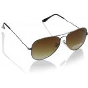Joe Black Round Sunglasses(Brown)
