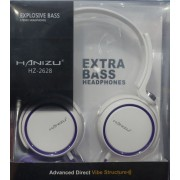 Fejhallgató Extra bass Mp3, Pc, ipod, iphone - Hanizu HZ-2628