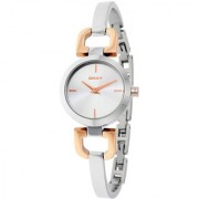 DKNY Analog White Round Women's Watch-NY2137