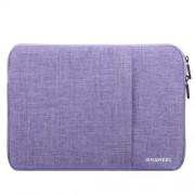 HAWEEL univerzális vízhatlan, ütéselnyelő tok max. 15 colos laptop / notebook készülékekhez - LILA