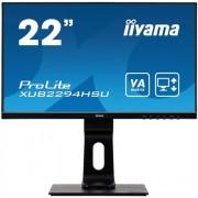 IIYAMA Monitor Iiyama XUB2294HSU-B1 21.5inch, VA, Full HD, HDMI/DP, Kõlarid