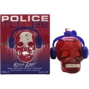 Police to be miss beat 125 ml eau de parfum edp profumo donna