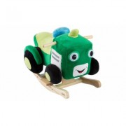 Happy Trails Plush Ride On Rocking Toys for Toddlers Tractor