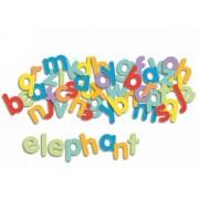 DJECO Drewniane literki magnetyczne dla dzieci - litery do nauki alfabetu DJ03102