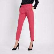River Island Womens Pink step hem cigarette trousers