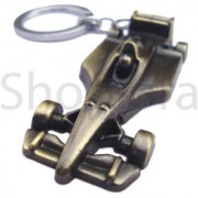 Vintage Ferr ari Car Shape Metal Keychain Keyring Best Collectible Gifting