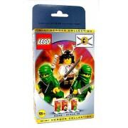 Lego Ninja Mini Heroes Collection # 3346 Ninja # 3 (Samurai Lord and Green Ninja)
