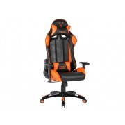 WOXTER Silla Gaming WOXTER Stinger Station (Hasta 150 kg - Elevador a Gas Clase 4 - Negro y Naranja)