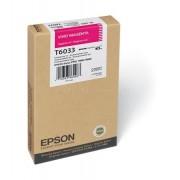 T6033 Fotópatron StylusPro 7800, 7880 nyomtatókhoz, EPSON magenta, 220ml Stylus Pro 7800 Stylus Pro 7880 Stylus Pro 9800 Stylus Pro 9880 Eredeti kellékanyag