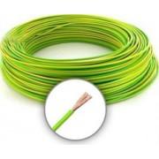 MKH 1.5 (H07V-K) Sodrott erezetű Réz Vezeték - Zöld sárga