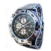 4 Gb spy watch Steel Strap water resistant